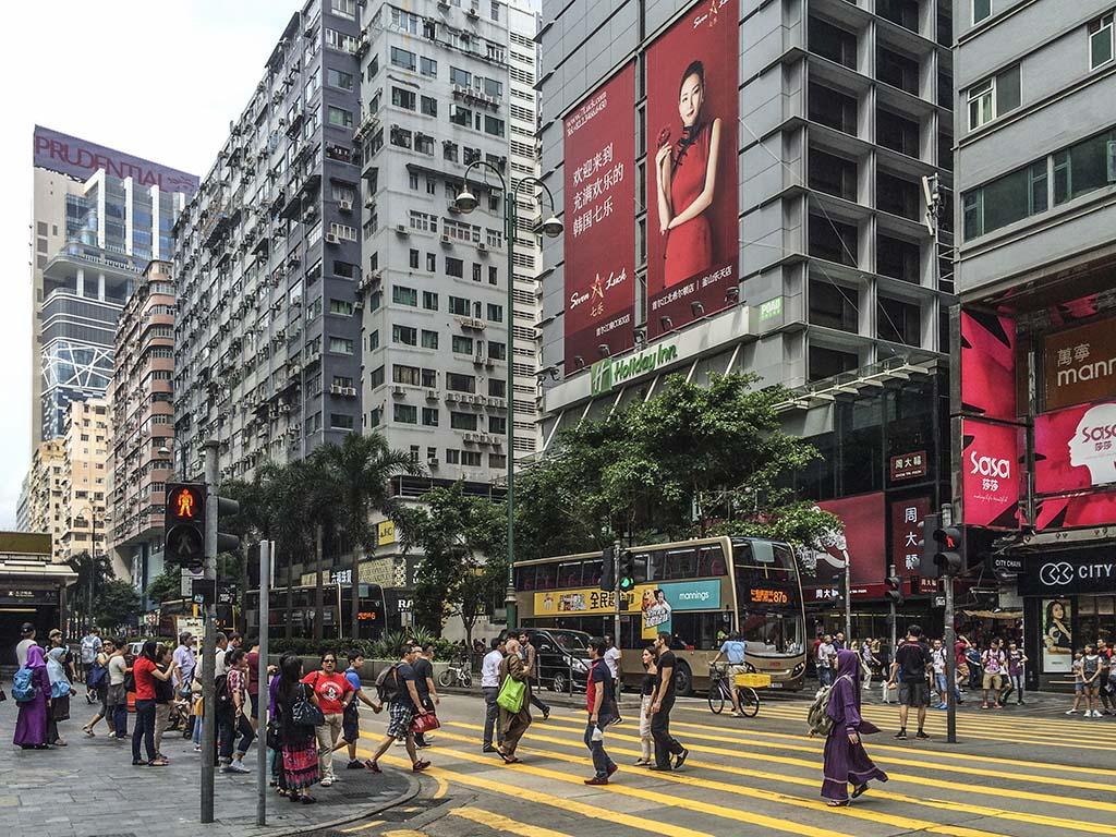 Nathan Street Hong Kong