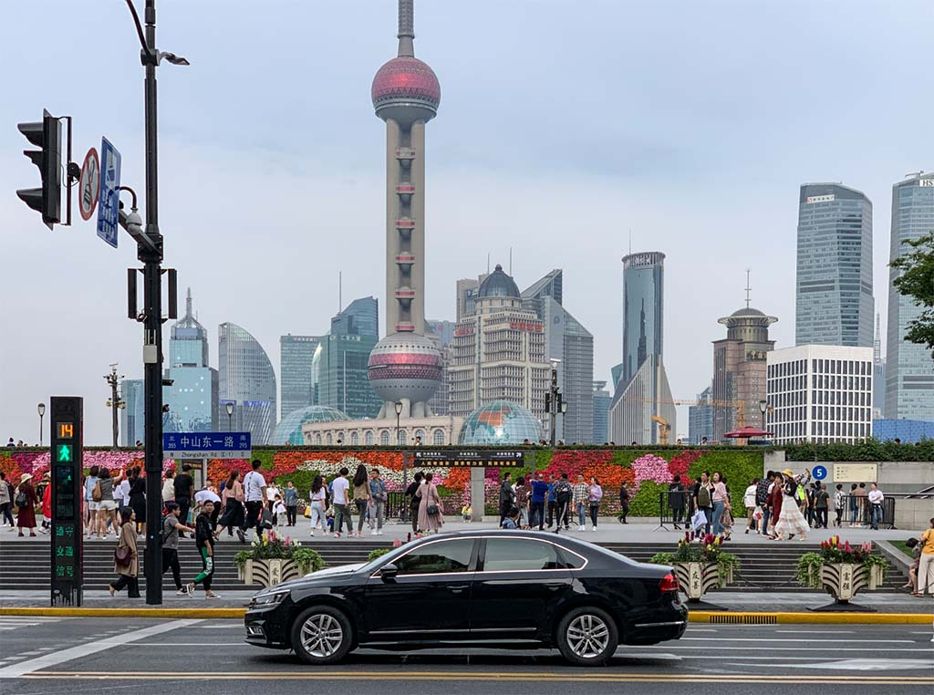 Shanghai tourists